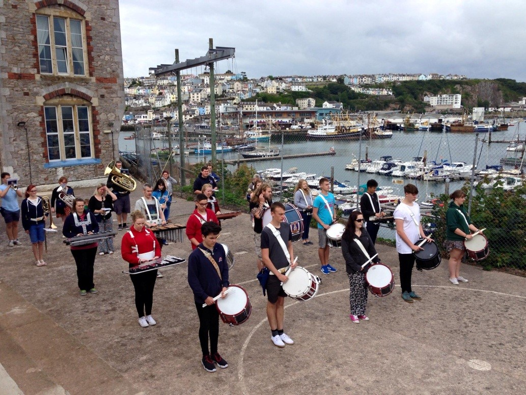 National Band tour of Devon 27th-31st July 2015