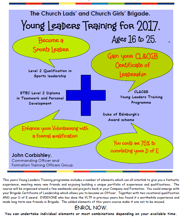 Young Leaders Training 2017