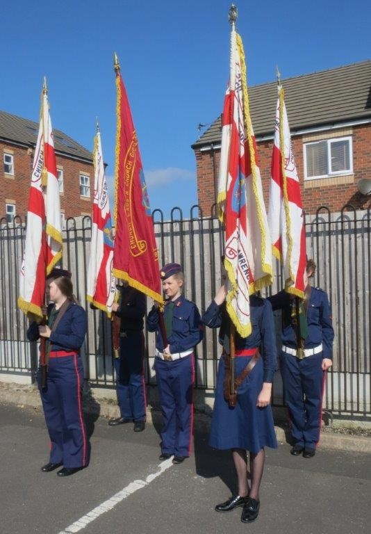 Chorley and Ribblesdale's Battalions' parade