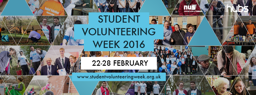 Student Volunteering Week 2016